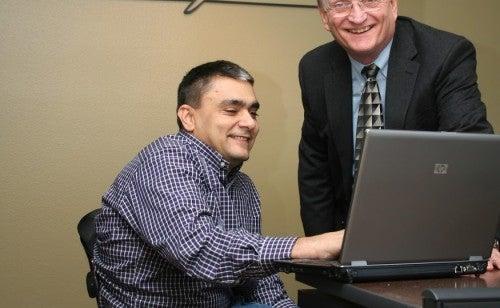 Jim Larson CEO and Don Hayden CIO at Morningside